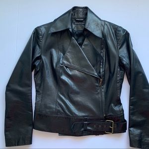 Mackage leather Moto jacket